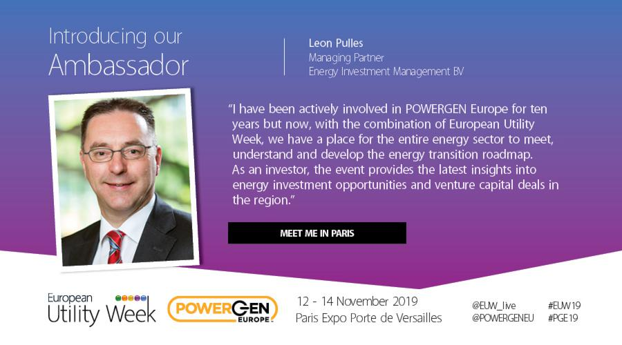 Leon Pulles, Managing Partner, Energy Investment Management BV