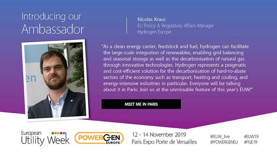 Nicolas Kraus, EU Policy & Regulatory Affairs Manager, Hydrogen Europe